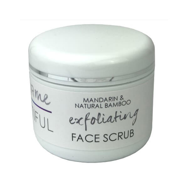 Mandarin & Natural Bamboo Face Exfoliator (SAVE10%)